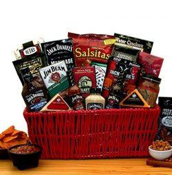 Premium BBQ Gift – Jim Beam & Jack Daniels Gourmet Grilling Gift Basket -Great Holiday ...