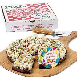 Gourmet Chocolate Gift Box Happy Birthday Gift Chocolate Lovers Popcorn Pizza Kosher Certified B ...