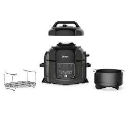 Ninja Foodi 1400-Watt Multi Pressure Cooker, Steamer & Air Fryer w/TenderCrisp Technology Pr ...