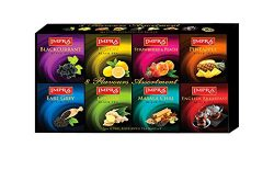 Impra Black Tea Collection Gift Pack 8 Flavors, 80-Count Tea Bags per order