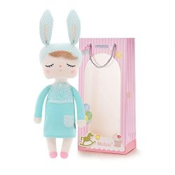 Easter Gifts Baby Doll Girl Gifts Stuffed Bunny Super Soft Plush Rabbit Toys 12″ Gift Bag  ...