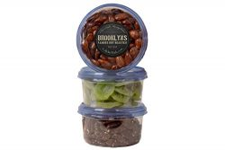 Honey Glazed Almonds, Dried Kiwi & Honey Glazed Pecans – 3 16Oz Containers, Delicious  ...