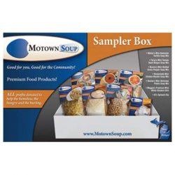 Motown Soup, Soup Sampler Michigan Food Gift Box, 6 Mini Soup Mixes, Spinach Dip