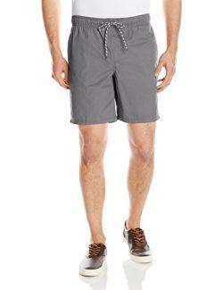 Amazon Essentials Men's Drawstring Walk Short, Grey, Medium