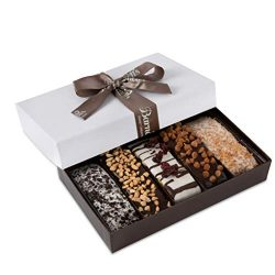 Barnett's Gourmet Chocolate Biscotti Favors Gift Box Sample, Christmas Holiday Cookie Gift ...