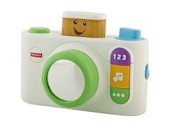 Fisher-Price Laugh & Learn Click 'n Learn Camera, White