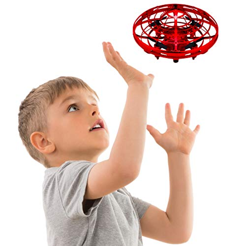 Hand Operated Drones for Kids or Adults – Scoot Hands Free Mini Drone Helicopter, Easy Ind ...