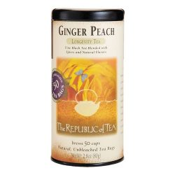 Republic Of Tea, Tea Ginger Peach, 50 Count