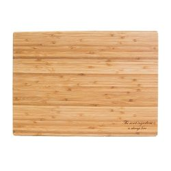 The secret ingredient is always love – Engraved premium quality bamboo cutting board &#821 ...