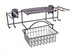 Organized Living Activity Organizer Garden Rack with Basket