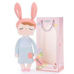 Easter Gifts Baby Doll Girl Gifts Super Soft Plush Rabbit Bunny Toys 12″ Gift Box
