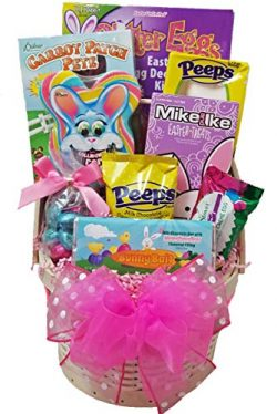 Delight Expressions Easter Bunny Bait Gift Basket for Girls – A Holiday Easter Gift
