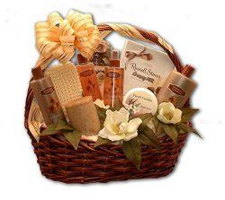 Spa Gift Basket Vanilla Bliss Bath Spa