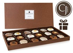 Chain & Jo Sweets Mother's Day Chocolate Covered Cookies, Gift Box Assortment,Dairy Ch ...