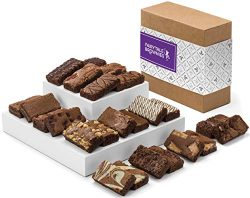 Fairytale Brownies Sprite 24 Gourmet Chocolate Food Gift Basket – 3 Inch x 1.5 Inch Snack- ...