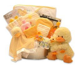 Splish Spalsh It's Time for A Bath Baby Gift Basket
