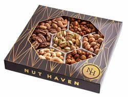 Holiday Nuts Gift Basket | Fresh Sweet & Salty Dry Roasted Gourmet Nuts | Fantastic Gift for ...