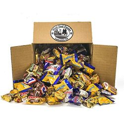 Bulk Candy Box (5 lbs) – Assortment of Miniature Chocolate Candy for Gift basket Treats an ...