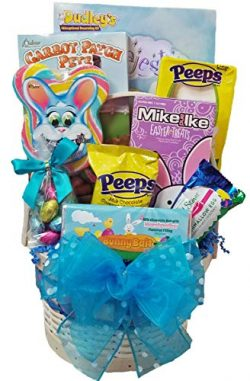 Delight Expressions Easter Bunny Bait Gift Basket for Boys – A Holiday Easter Gift