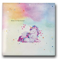 Baby First Year Memory Book, Photo Book & Journal 2019 Gift for New Moms: Unicorn Gifts for  ...