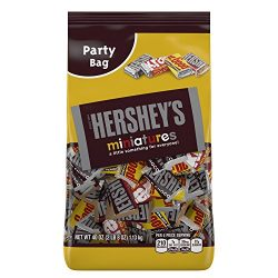 HERSHEY'S Chocolate Assorted Miniatures, 40oz (Krackel, Mr. Goodbar, Special Dark)