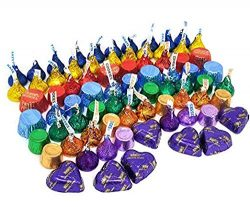 Rainbow Candy Assortment – Rolo, Reese's, Kisses, Hershey's Hearts Candy &#821 ...