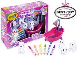 Crayola Scribble Scrubbie, Toy Pet Playset, Easter Basket Stuffers, Gift