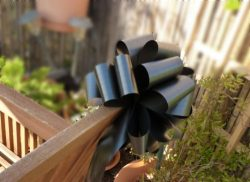 Large Black Ribbon Pull Bows – 9″ Wide, Set of 6, Bows for Gifts, Halloween Decor, C ...