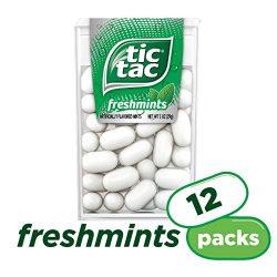 Tic Tac Mint, Freshmint, Fresh Breath Mints, 12 Count