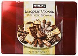 COS-SL Kirkland European Cookies with Belgian Chocolate 15 VARIETY FLAVORS Of 49.4 Oz BOX (3 LBS ...