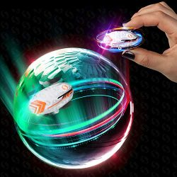 Whipz Micro Racers Mini Cars – Micro Pocket Racer LED Light Up Glow in The Dark Car Spinne ...