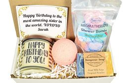 Custom Birthday Gift Box, Gift Ideas, Happy Birthday Gift Box, Happy Birthday Gift Basket, Birth ...