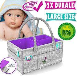 Baby Diaper Caddy Organizer Baby Shower Gift Basket Cute Shower Caddy Baby Car Organizer Boy Gir ...