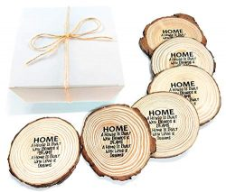 Best Housewarming Gift Ideas for a New Home? Coasters! Premium, Personalized, Gift Ready, All Na ...