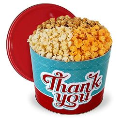 Thank You Popcorn Tin (Traditional Mix)