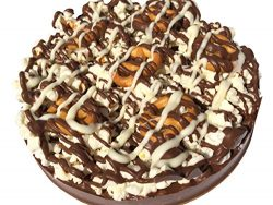 Sensational Sweets Gourmet Chocolate Mini Pizza Pies (Gluten Free Pretzel)
