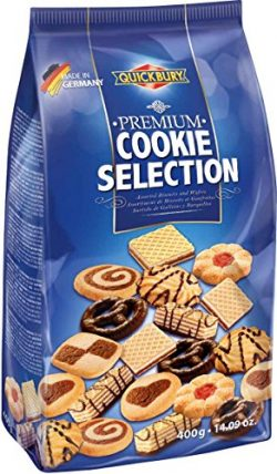 Quickbury Premium Assorted Cookie Selection, 14.1 Ounce