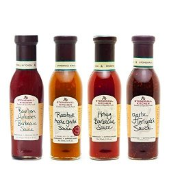 Stonewall Kitchen 4 Piece Sweet Grille Sauce Collection