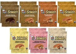 Honey Stinger Waffle Variety Sampler Pack – 14 Waffles, 2 of Each Flavor