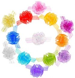 Penta Angel 13 Pcs Pull Bows Yarn Gift Wrapping String Bows Ribbon Basket Knot Bows for Birthday ...