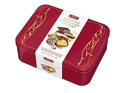 Lambertz European Chocolate Cookies, 3 lbs Gift Tin (Red)
