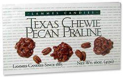 Texas Based Lammes Chewy Pecan Pralines 16 Oz Box