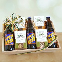 Nuts for Dad Father's Day Gift Basket by Givens and Company