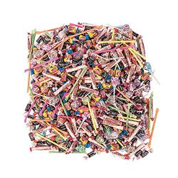 Bulk Candy for Pinata (1000 pc) 9lb – for kids party or Halloween Hard Candy Assortment