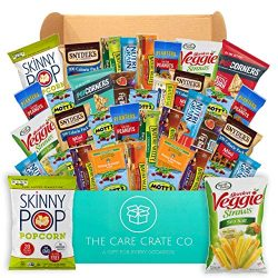 The Care Crate Healthy Snacks Care Package for Adults and Kids – Snack Box with Grains Bar ...