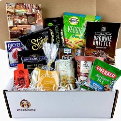 Get Well Gifts for Women, Men. Gourmet Get Well Soon Basket of Tea, Soup, Snacks, Puzzle & M ...