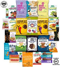 Gluten Free and Vegan Healthy Snacks, Mixed Premium Set of Snacks (30 Count)