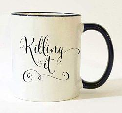 Killing It Mug/New Job Gifts for Women/Entrepreneur Woman/Congratulations Gift