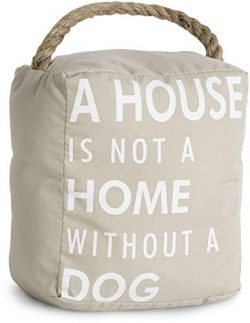 Pavilion Gift Company 72150 Dog Door Stopper, 5 by 6-Inch