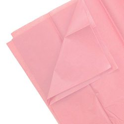 JAM PAPER Tissue Paper – Pink – 10 Sheets/Pack